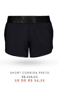 Short Corrida Preto