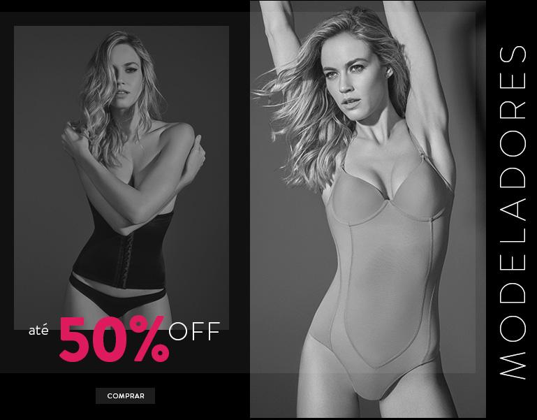 Modeladores até 50% OFF