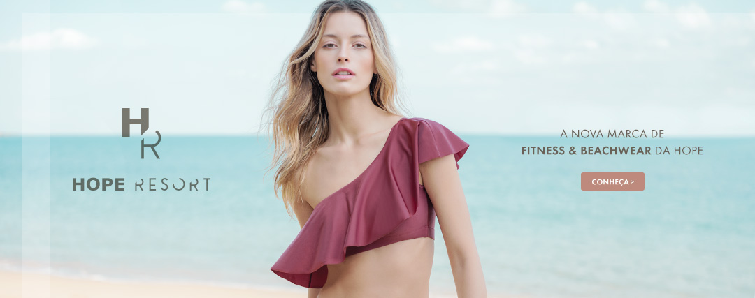 HOPE RESORT | A nova marca de Fitness & Beachwear da HOPE