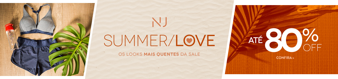 Summer Love | Até 80% OFF