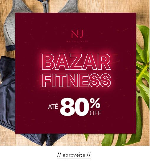 BAZAR FITNESS | até 80% OFF