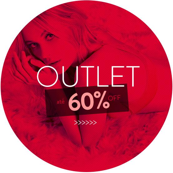 Outlet até 60% OFF