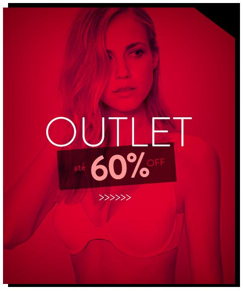 Outlet - até 60% OFF