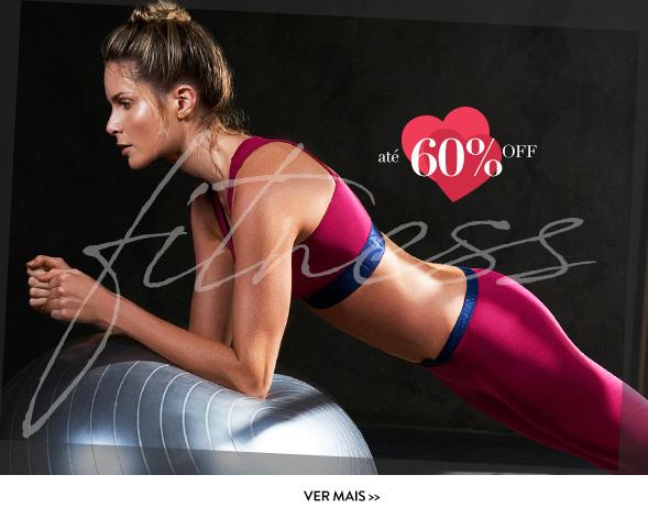 Fitness - até 60% OFF