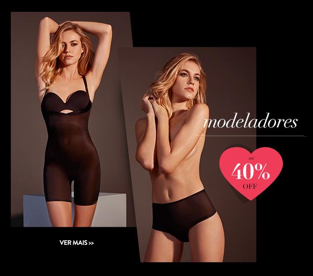 Modeladores - até 40% OFF
