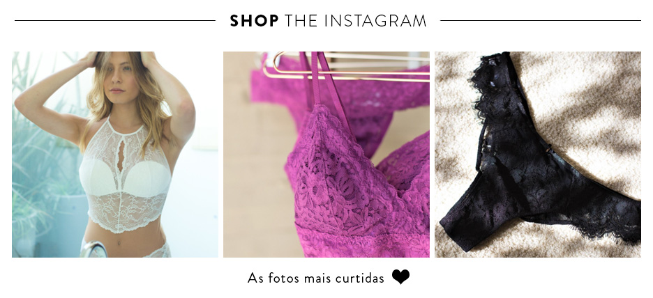 Shop the instagram - As fotos mais curtidas