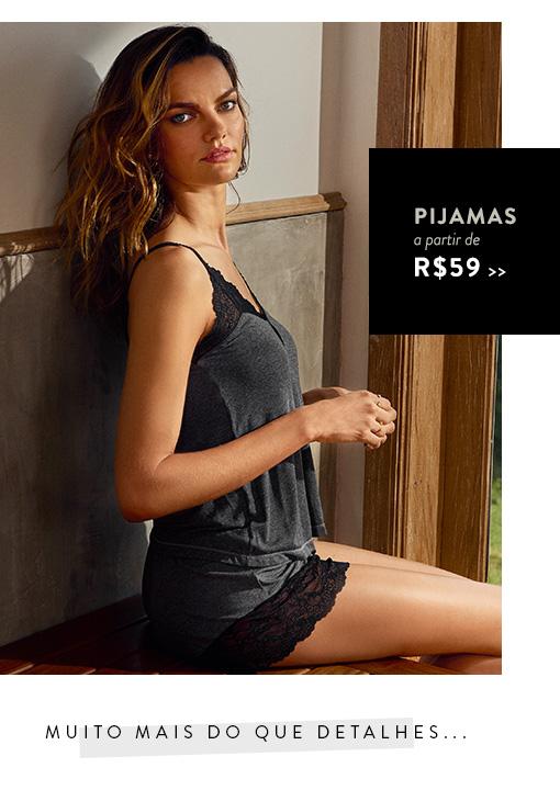 Pijamas a partir de R$59