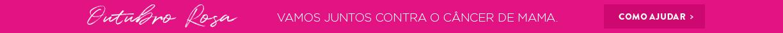 Outubro Rosa - Vamos juntos contra o câncer de mama